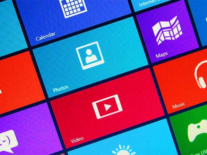 Baldosas de Windows 8