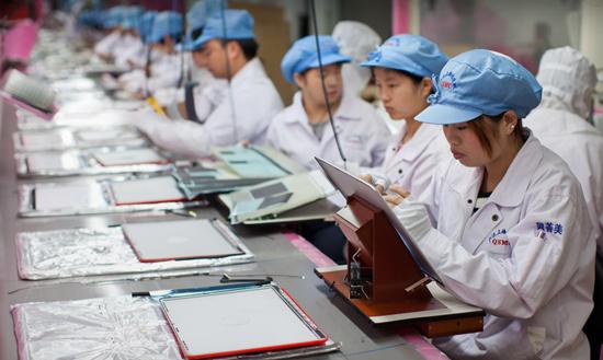 Trabajadoras de Foxconn Resultados del informe de responsabilidad del proveedor de Apple