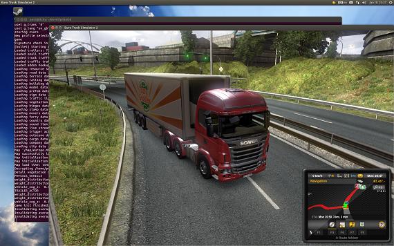 Euro Truck Simulator 2 llega a Linux