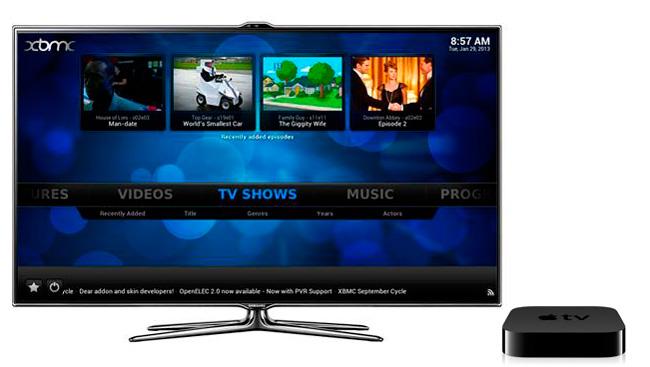 XBMX 12 en Apple TV