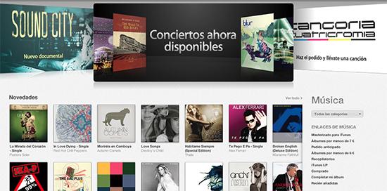 iTunes Store 25 mil millones de canciones La iTunes Store vende 25 mil millones de canciones