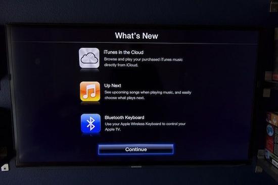 Actualización Apple TV con soporte para teclados La nueva actualización de software del Apple TV nos permite conectar un teclado Bluetooth