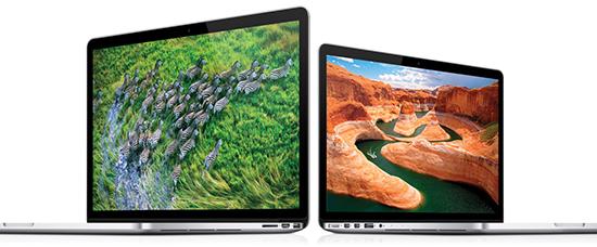 MacBook Pro Retina Pequeña actualización y bajada de precio de los MacBook Pro Retina