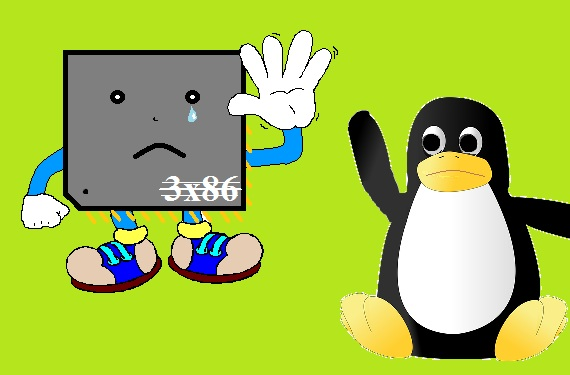 Linux 3.8, fin del soporte 386