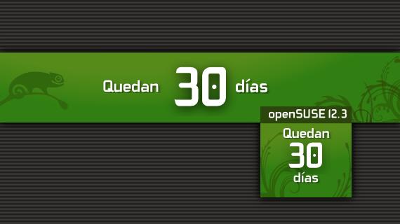 Cuenta regresiva para openSUSE 12.3