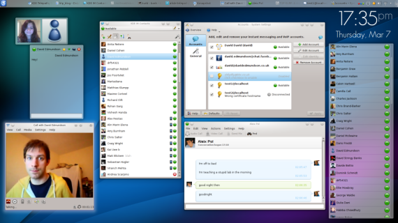 KDE Telepathy 0.6 Beta disponible, incluye interesantes mejoras