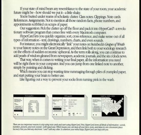 Who needs a computer anaway 12 Matt Groening trabajó produciendo guías en Apple