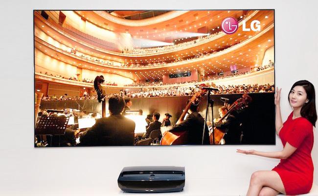 LG Cinema Beam, un proyector láser de 100 pulgadas con su propio sintonizador de TV